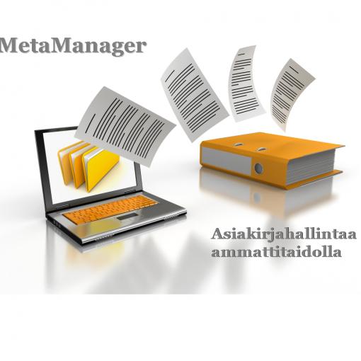 MetaManager - Asiakirjahallintaa ammattitaidolla